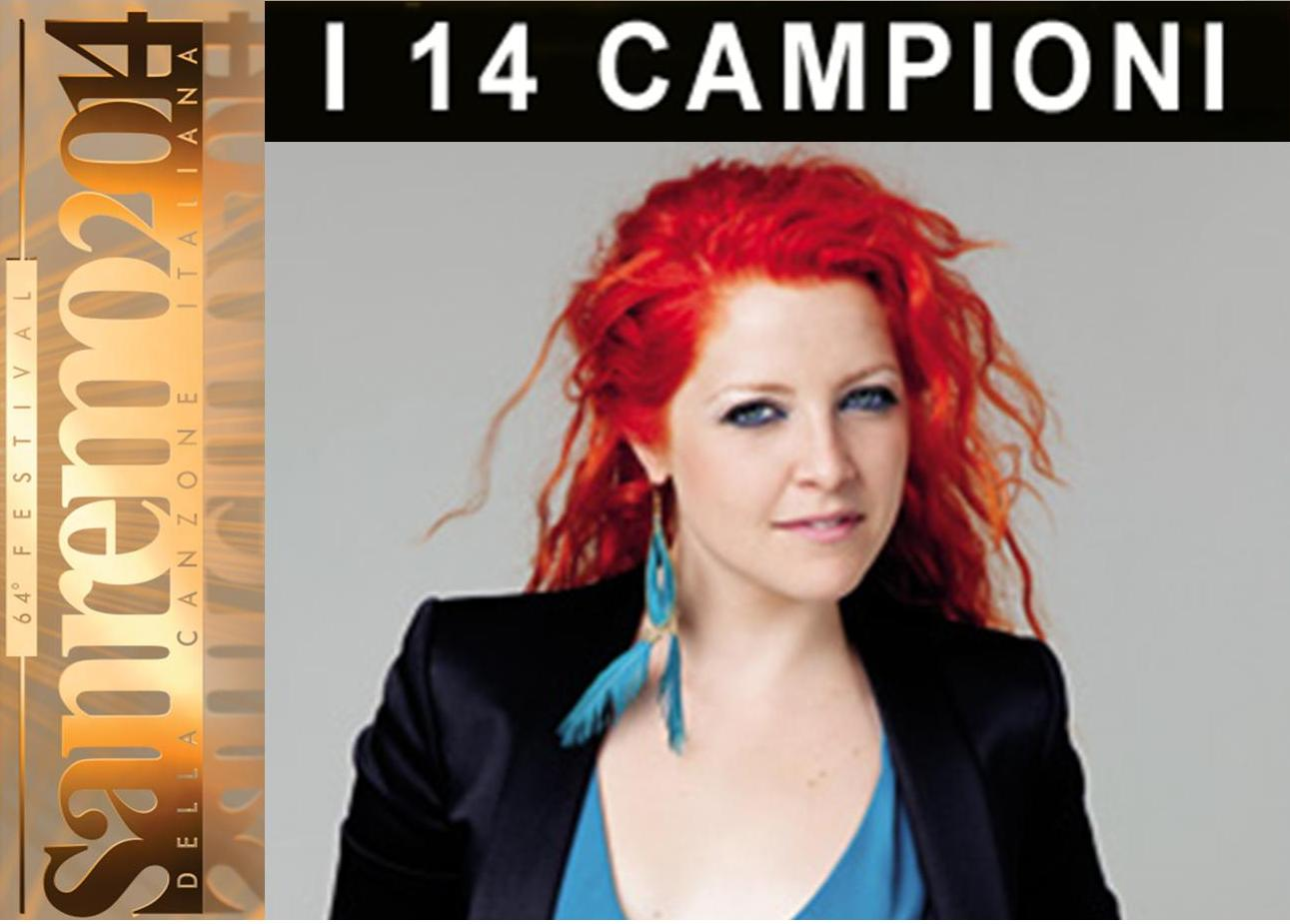 """Sanremo 2014 – Campioni: Noemi con """"Bagnati dal sole"""" ed """"Un uomo ..."""