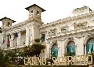Il Casinò di Sanremo, sede del Festival dal 1951 al 1976.