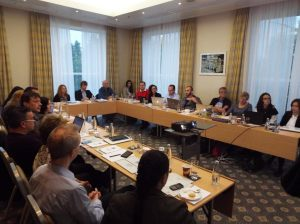 The Steering Group meets 3-4 times a year, and is the body which has overall charge of the Junior Eurovision format