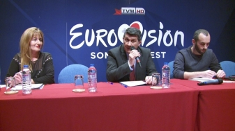 PBS chief executive John Bundy (centre) has announced a raft of changes to this year's Eurovision Song Contest.jpg