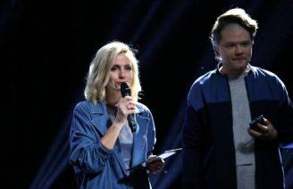 Toms Grēviņš un Ketija Šēnberga.jpg