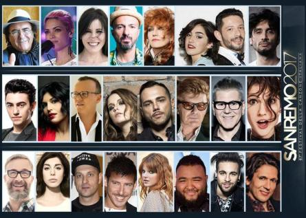 Musica: Big in gara a Sanremo 2017