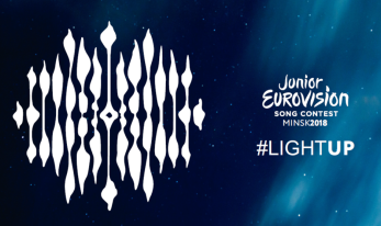 The slogan and theme art for Junior Eurovision 2018.png