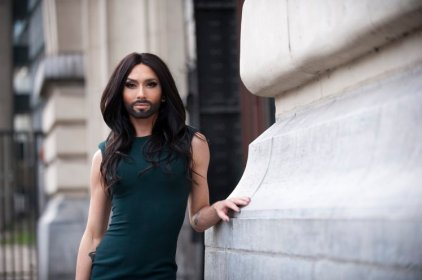 Conchita Wurst Portrait Session
