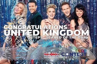 Gli Steps, i vincitori dell'OGAE Song Contest 2018