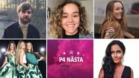 Finalisti P4 Nästa Halland 2019