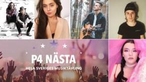 Finalisti P4 Nästa Örebro 2019