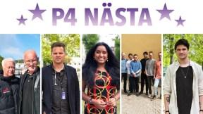 Finalisti P4 Nästa Väst 2019