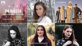 Finalisti P4 Nästa Jämtland 2019