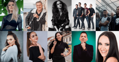 The 10 finalists of Slovenia's national selection 'EMA 2020'.png