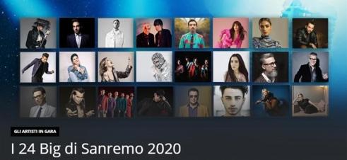 I Campioni di Sanremo 2020