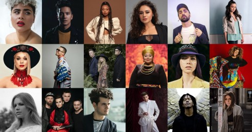 18 acts are confirmed for Eurovision 2021